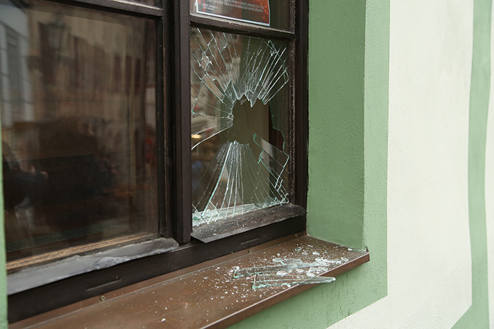 A2B Glass are able to board up broken windows while they are being repaired in Pinner.